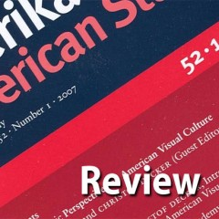 American Studies Today: New Research Agendas, eds. Winfried Fluck, Erik Redling, Sabine Sielke, and Hubert Zapf. Heidelberg: Winter, 2014. American Studies Monograph Series, no. 230. 475 pp.
